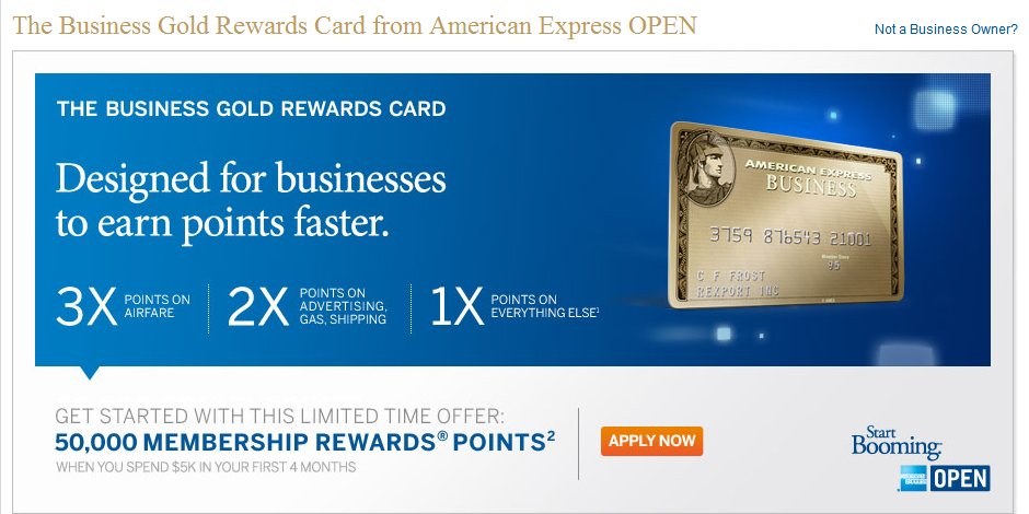 Flight dealer today only 04 26 12 the amex business for Amex gold business card
