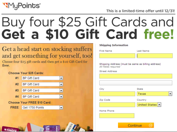 mypoint promotion